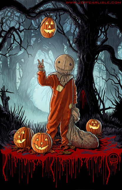 Trick r treat the art of jeff carlisle