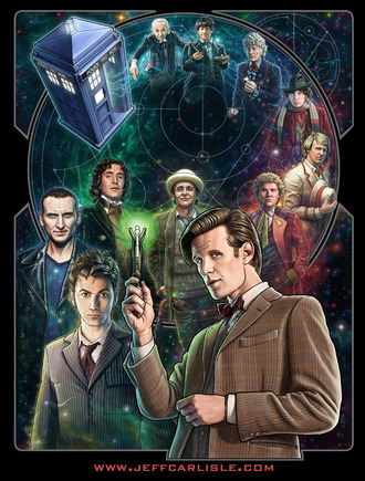Doctor Who Fiftieth Anniversary/2013 NYCC Exclusive image for Her Universe