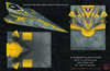 Star Wars: Folded Flyers - Anakin's Jedi Fighter Spot Illustration and Paper Airplane Textures