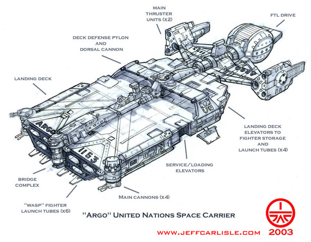 "United Nations Space Carrier ""Argo"""