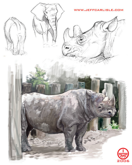 Sketchbook - Rhino