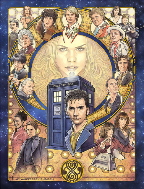 Dr. Who by Jeff Carlisle