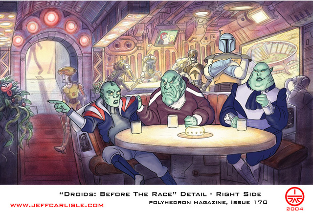 Droids: Before the Race (right side detail)