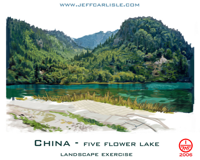 China - Five Flower Lake (final)