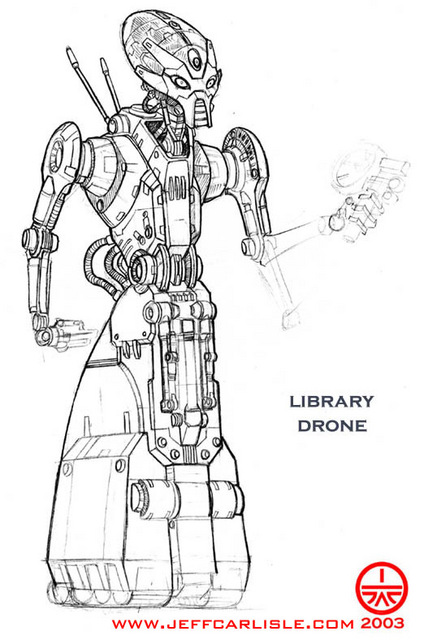 Library Drone