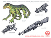 Star Wars: Ord Vaxal weapons