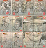 Indiana Jones and the Kingdom of the Crystal Skull Sketchcards - part one
