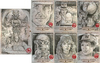 Indiana Jones Masterpieces sketch cards - Return Cards
