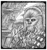 Portrait of Chewbacca, for Blue Harvest fan magazine (2000)