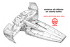 Star Wars Miniatures - Starship Battles - Sith Infliltrator