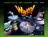 Whacked! Concept booklet - Cover - Space Station screenshot