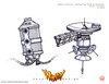 Whacked! Concept booklet - page 12 - Spacestation - Tower concepts 1